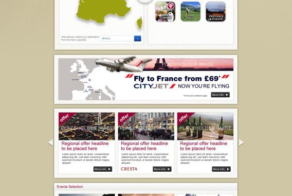 Atout France - gotofrancenow campaign website 2013