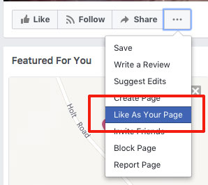 how to add another facebook business page