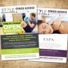 Paul Kirk - Style HEalth & Fitness Open Weekend '14 flyer design