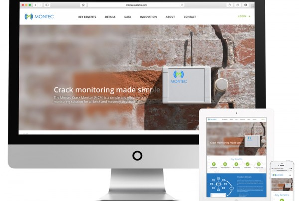 web design for Montec Systems