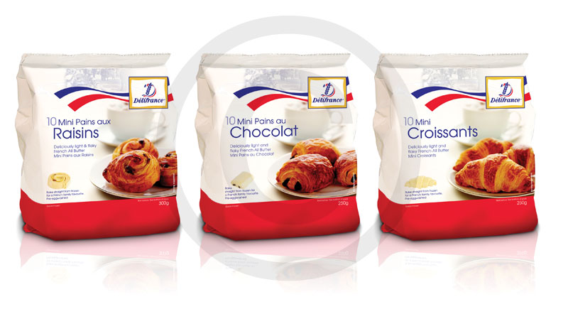 Delifrance food packaging