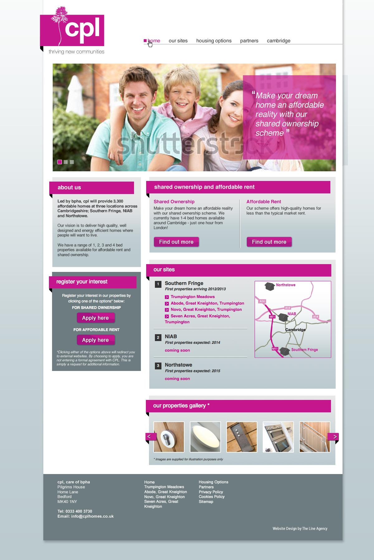 cplhomes web design