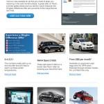 Dingles Motor Group e-newsletter