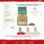 Lovejoys Pet Food web design
