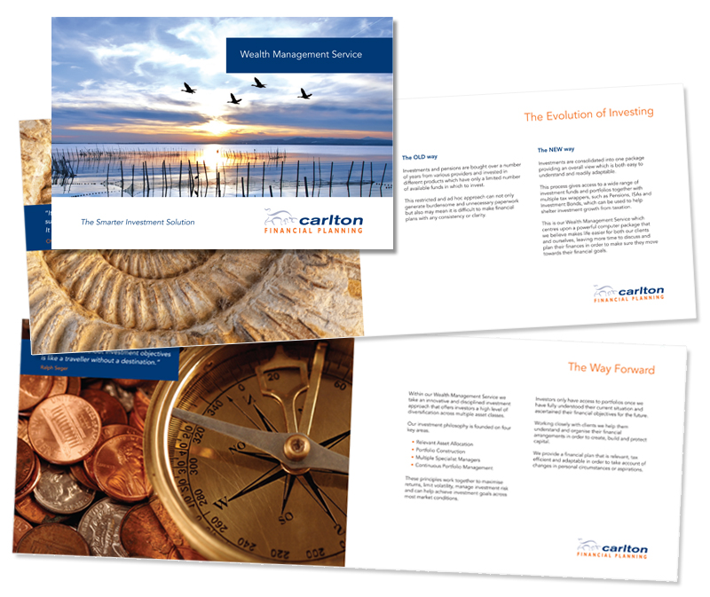 Carlton Financial Planning - Wealth Management Service design