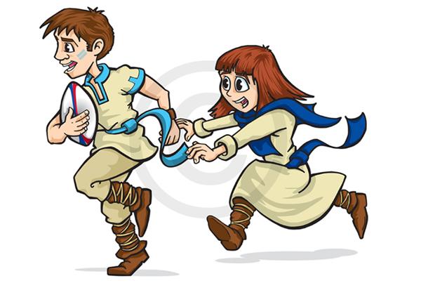 Iceni Coaching & Fitness Kids illustration