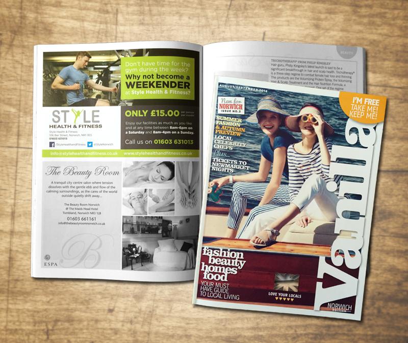 Paul Kirk - Style Health & Fitness Magazine Advertising - Vanilla Magazine