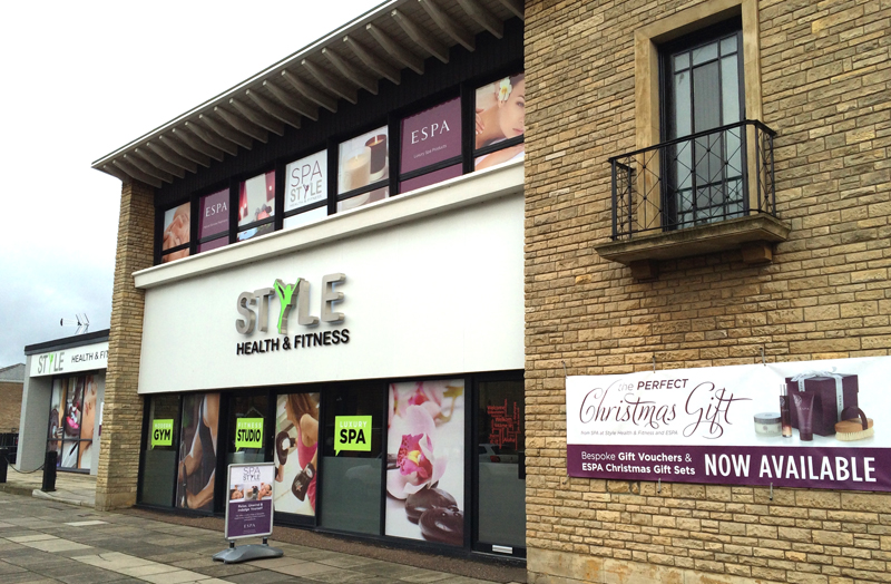 Style Health & Fitness, Norwich Exterior/Shopfront design