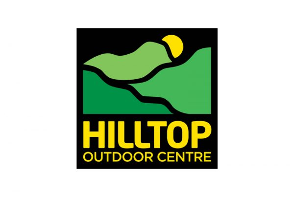 Hilltop Outdoor Centre logo - Paul Kirk Design