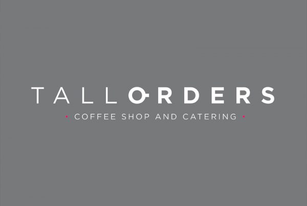 Tall Orders Coffee Shop branding - Paul Kirk Design