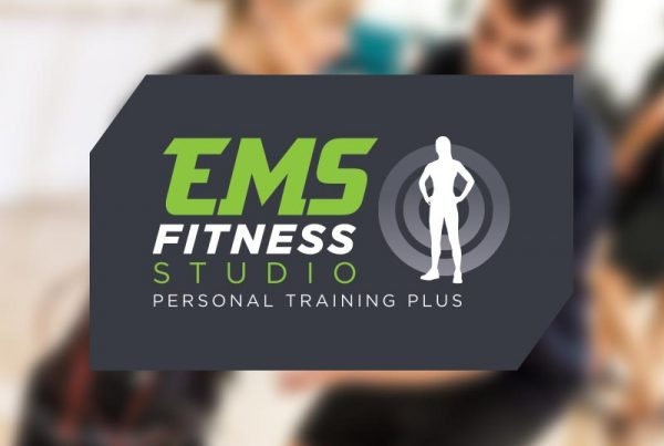 paul kirk design ems fitness logo design