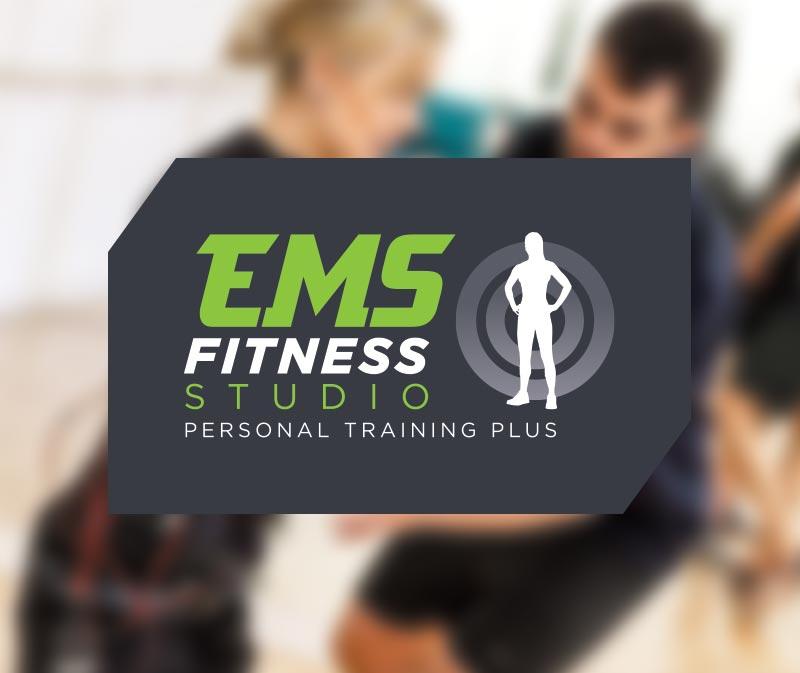 Ems Fitness Studio Norwich Logo Design Paul Kirk Design Graphic Design Web Design Social Illustration Services Norwich Norfolk