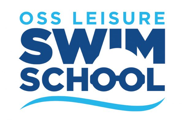 OSS Leisure Swim School logo design - paul kirk deisgn