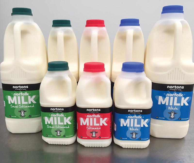 Nortons Dairy Milk packaging design - Paul Kirk Design